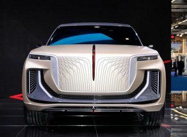 Китайский кроссовер от дизайнера Rolls-Royce станет серийным