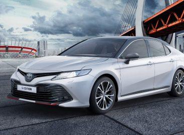 Toyota Camry в новой специальной версии S-Edition