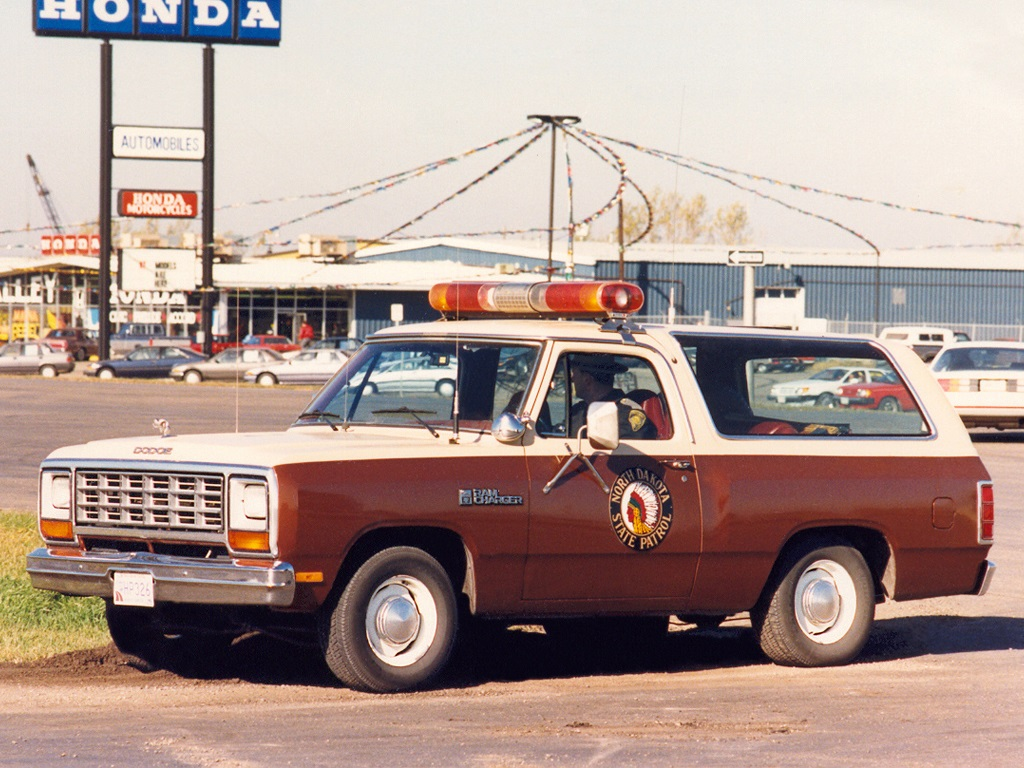Dodge Ramcharger Patrol Vehicle 1984