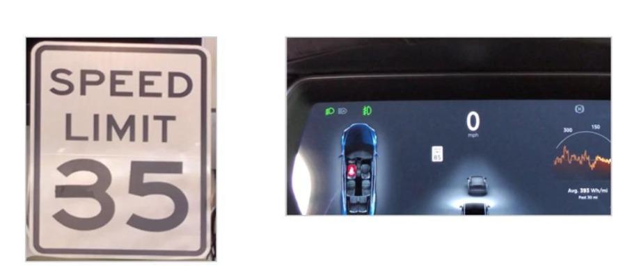 Электромобиль Tesla можно обмануть с помощью куска изоленты