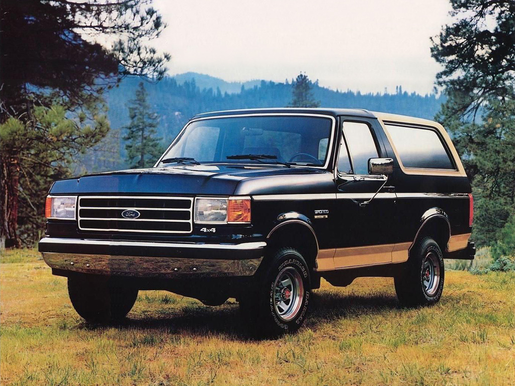 Ford Bronco 1987-91