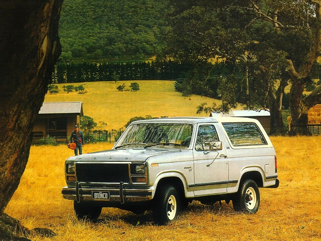 Ford Bronco Au-spec 1981