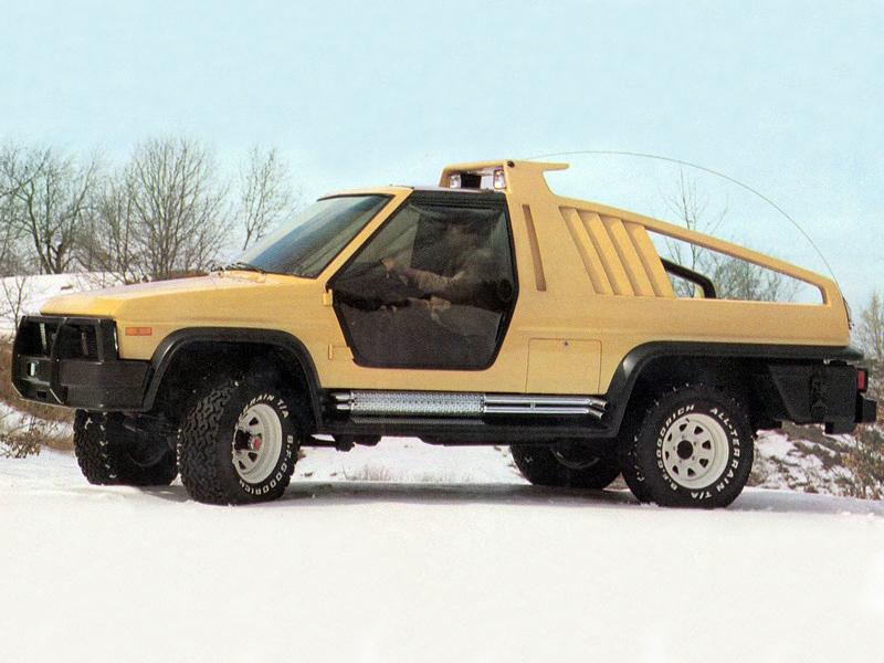 Ford Bronco Montana Lobo Concept 1981