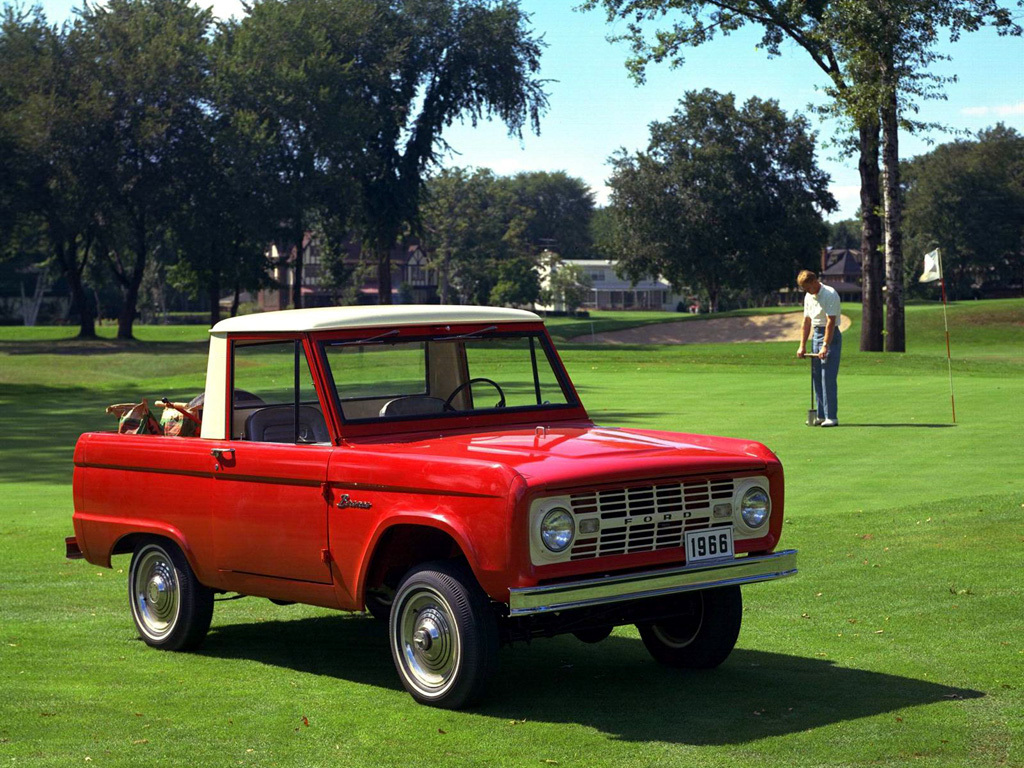 Ford Bronco Sports Utility 1966