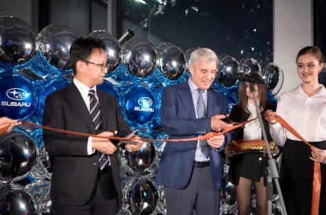 Открытие нового дилерского центра Subaru в Сургуте