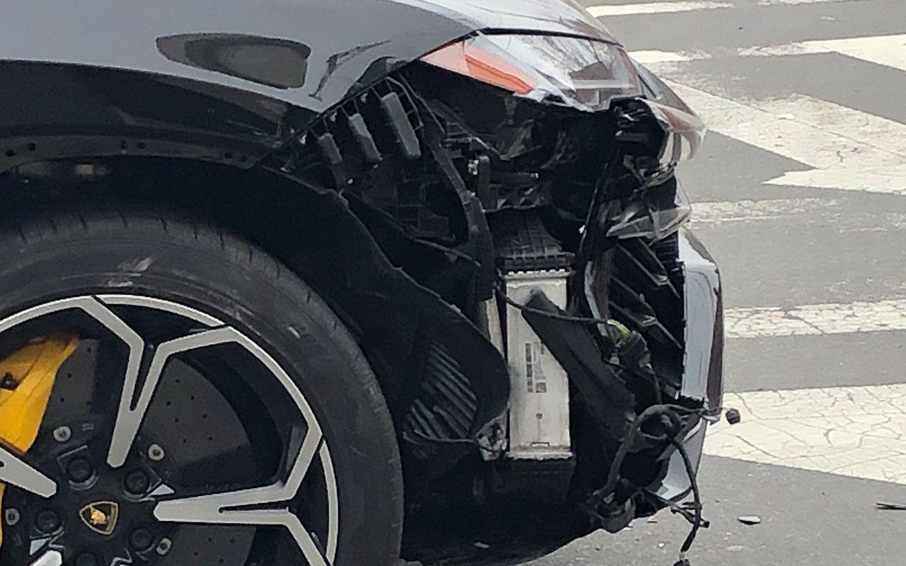 Фото: Lamborghini Urus ДТП