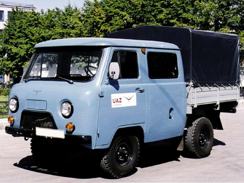 """УАЗ-39094 """"Фермер"""" 1994"""