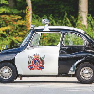 На аукцион выставлен самый милый полицейский автомобиль всех времен