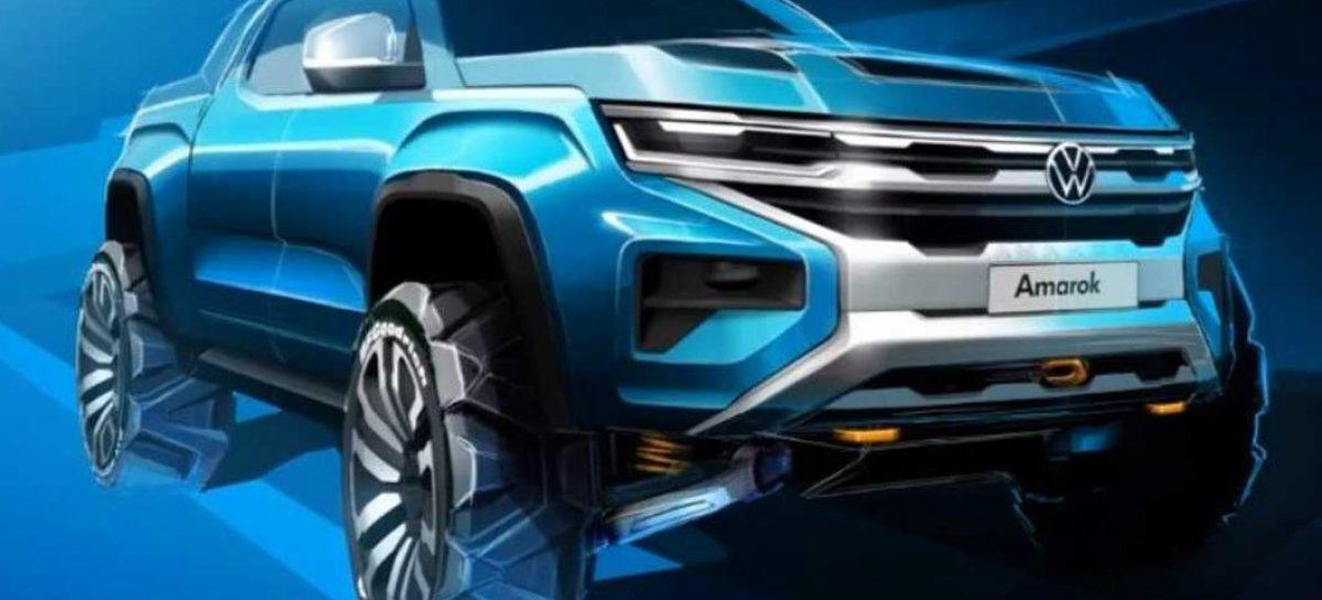Volkswagen впервые показал новый Amarok