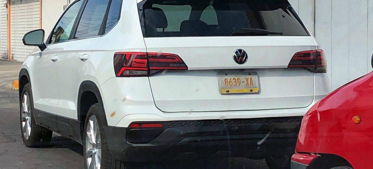 Новый Volkswagen Tarek сфотографировали без камуфляжа