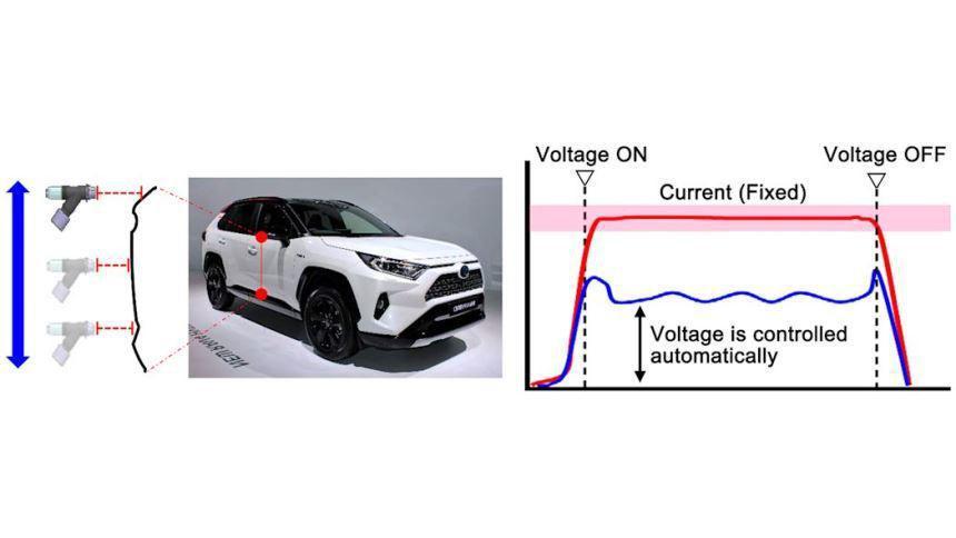 Toyota научилась красить машины без помощи воздуха