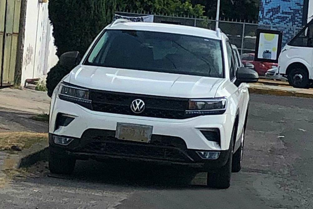 Кроссовер Volkswagen для России сфотографировали без камуфляжа в Мексике