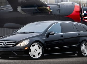 Уникальный минивэн Mercedes-Benz R63 AMG выставили на продажу