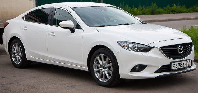 Mazda 6 GJ 2013