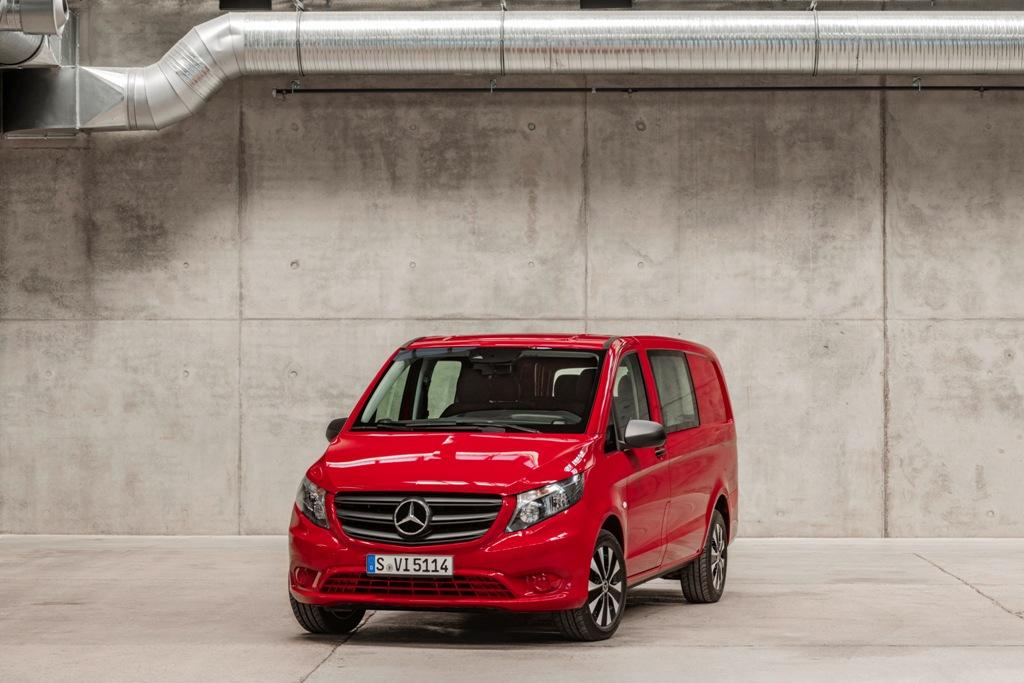 Новый Mercedes-Benz Vito