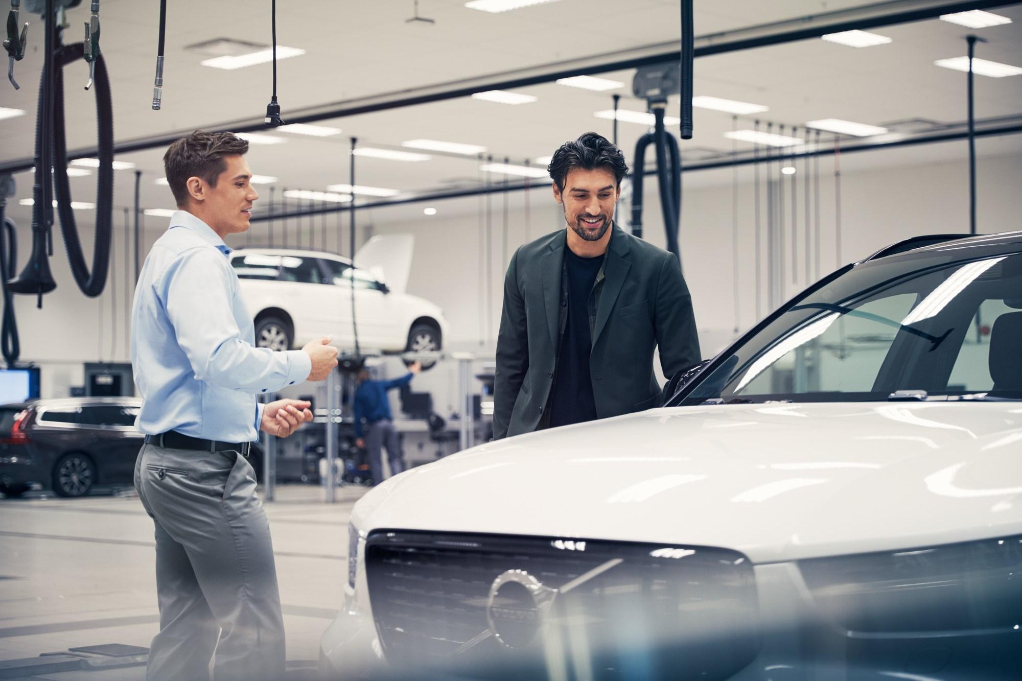 «Гарантированная поддержка Volvo»