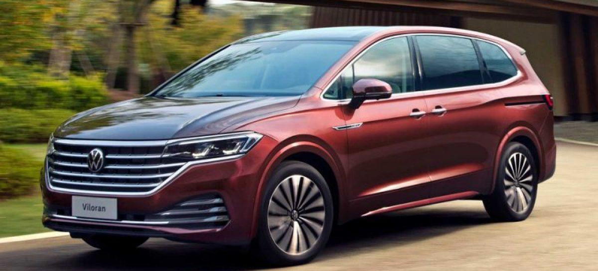 Озвучена дата продаж минивэна Volkswagen Viloran