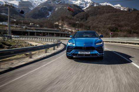 Экспедиция Lamborghini в Краснодарском крае