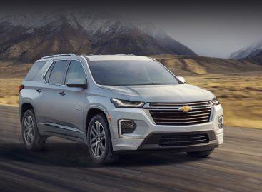 Chevrolet представил обновлённый кроссовер Traverse