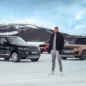 Land Rover и Энтони Джошуа отметили золотой юбилей внедорожника Range Rover