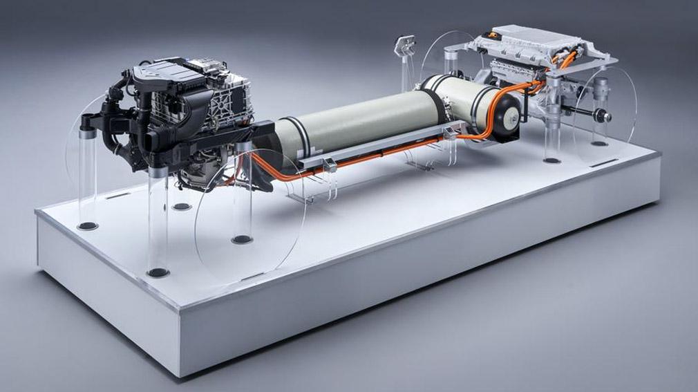 BMW X5 с новой водородной установкой