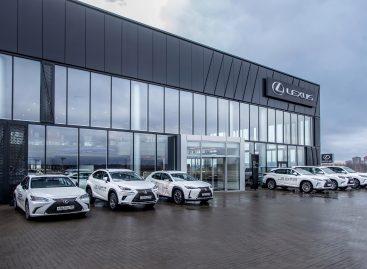 Открытие нового дилерского центра Lexus в Санкт-Петербурге