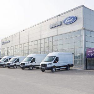 Новый дилерский центр Ford открылся в Воронеже