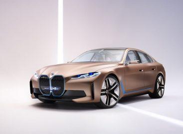 BMW раскрыла электромобиль Concept i4