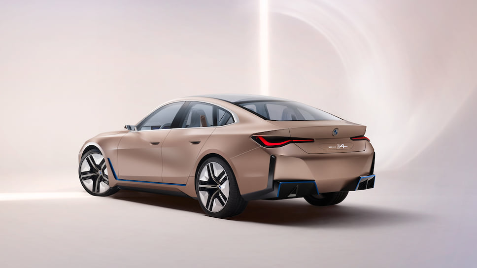 BMW Concept i4. Фото: BMW