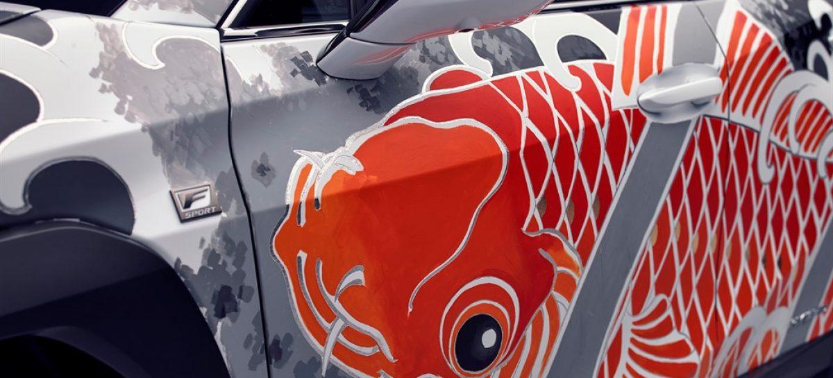 Lexus создал первый в мире татуированный автомобиль