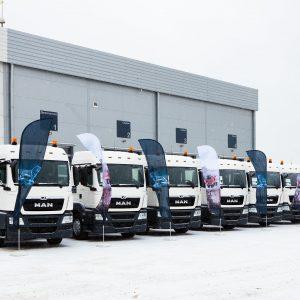 Новые грузовые автомобили MAN для Air Liquide
