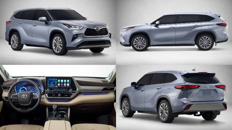 Новый Toyota Highlander сертифицировали в России