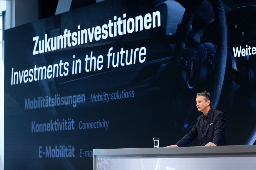 Porsche Оливер Блюм, Президент и генеральный директор
