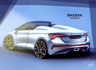 Седьмым студенческим концепт-каром Škoda станет родстер на базе Scala