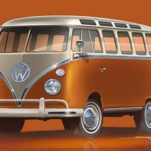 Volkswagen Коммерческие автомобили впервые представит новый e-Bulli на выставке Techno Classica