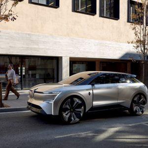 Renault представляет электрический концепт-кар Morphoz
