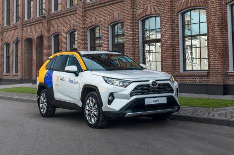 Кроссовер Toyota RAV4 теперь доступен в Яндекс.Драйв
