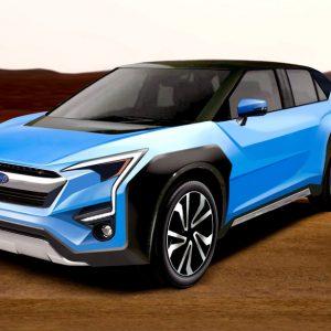 Раскрыты подробности о первом электрокаре Subaru