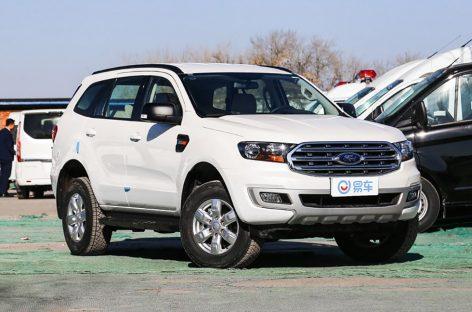 Ford анонсировал обновленный внедорожник Ford Everest