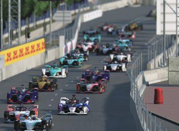 Команда Nissan e.dams приняла участие в первой виртуальной гонке Формулы Е