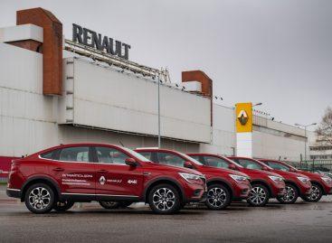 Renault Arkana на службе в волонтерском движении