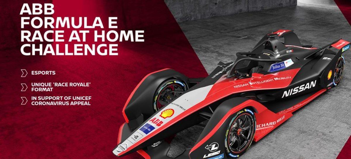 ABB Formula E запускает онлайн-соревнование Race at Home Challenge