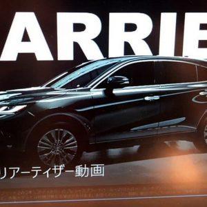 Новый Toyota Harrier переедет на платформу RAV4