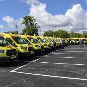Ford Sollers поставит более 600 автомобилей скорой помощи в 67 регионов страны