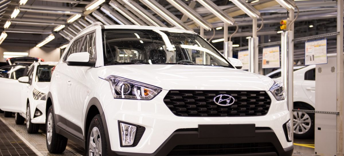 График работы российского завода Hyundai с 27 по 30 апреля 2020 года