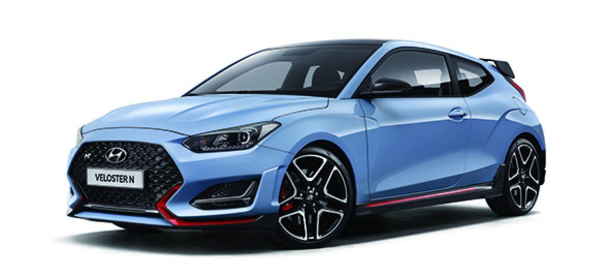 Hyundai представляет новый Veloster N с восьмиступенчатой трансмиссией с двойным сцеплением