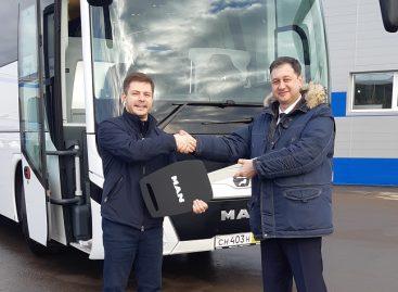 Первый туристический автобус MAN Lion's Coach отгружен для Госкорпорации «Росатом»