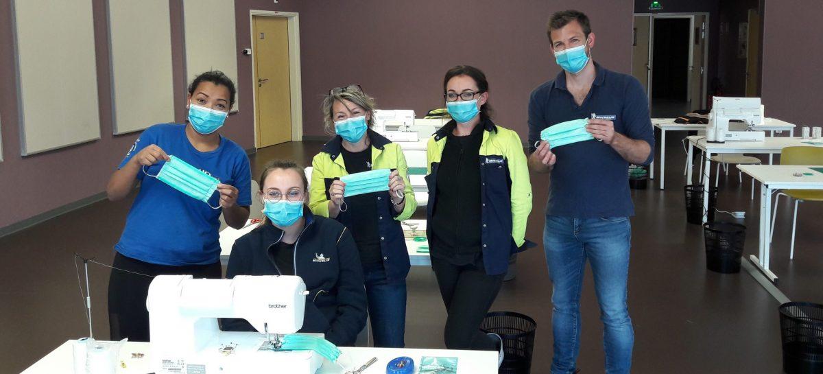 Десять европейских заводов Мишлен запускают производство защитных масок и очков