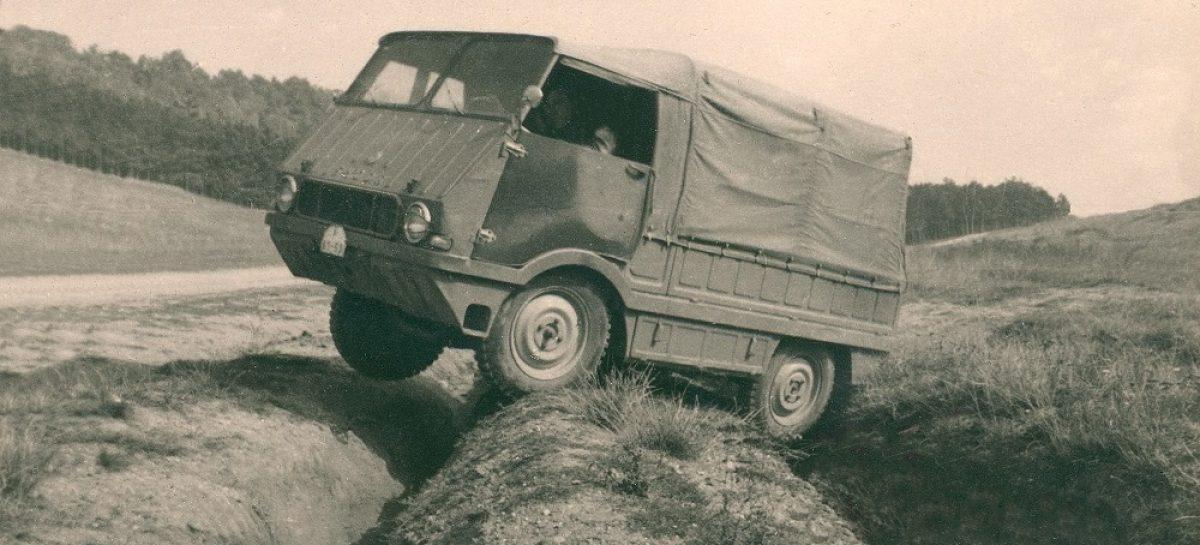 Малоизвестные модели в 125-летней истории Škoda: Type 998 Agromobil