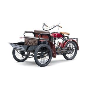 Малоизвестные модели в 125-летней истории  Škoda Auto: трехколесный Laurin & Klement LW